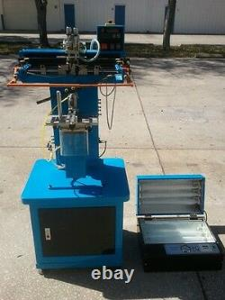 TIC SCF-260DE Silk Screen Printer & The Printall UV Exposure Unit