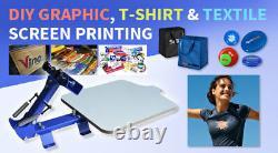 USA 1 Color 1 Station T-Shirt Silk Screen Printing Machine Printer