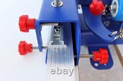US 4 Color 1 Station Screen Printing Press Machine Microadjust Printer Equipment