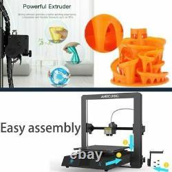US Anycubic Mega X 3D Printer Kit Large Print Size 3.5TFT Screen Full Metal