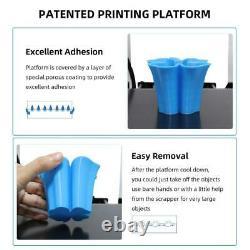 US Anycubic i3 Mega S 3D Printer Resume Print 3.5 TFT Screen 10m PLA Filament