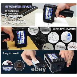 US Fast dry Portable Handheld jet printer Touch Screen Date Word QR Barcode Logo
