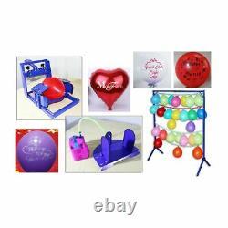 US Manual 1 Color Balloon Screen Printing Machine Kit DIY Balloon Screen Printer