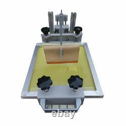 US! Manual Cylinder Silk Screen Printing Machine for Pen/ Cup/ Mug/ Bottle