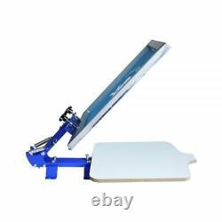 US Stock 1 Color 1 Station Silk Screen Printing Machine T-Shirt Press Printer