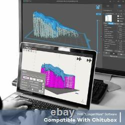 Used Longer Orange 30 3D Printer SLA 2K LCD Screen 120x68x170mm Resin 3D Printer