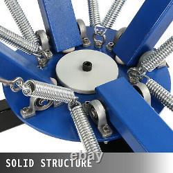 VEVOR 4 Color 1 Station Silk Screen Printing Machine Pressing Glass Manual GREAT