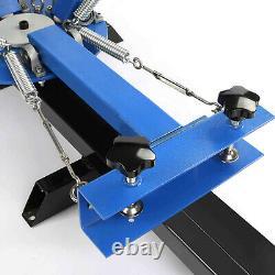 VEVOR 4 Color 2 Station Silk Screen Printing Machine Press Equipment T-Shirt DIY