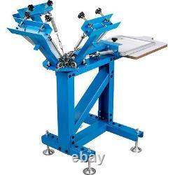 VEVOR Screen Printer Screen Printing Machine 4 Color 1 Station For T-shirts
