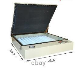Vacuum Exposure Unit Screen Printing Plate Burnning Machine UV Light 20x24