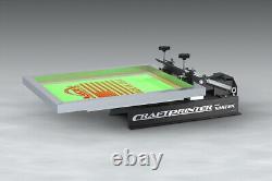 Vastex 1 Color, 1 Station Screen Printer Press V-10-11