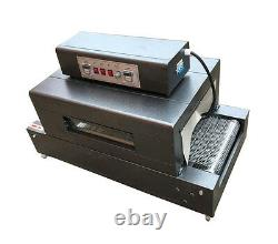 Visual Tunnel Furnace Stainless Steel Belt Oven Shrinking machine